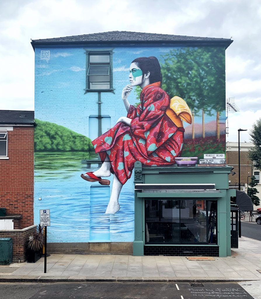 """Shisoka"" by Fin DAC in London"
