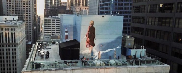 """Onur's """"Grounded"""" Stuns High Above Chicago"""