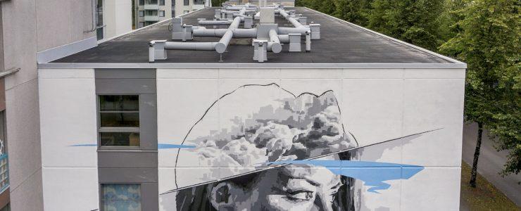 """Mindscape"" by INO in Joensuu, Finland"