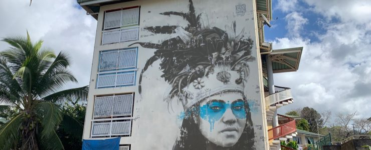 """Noa Noa"" by Fin DAC for Ono'u Tahiti"