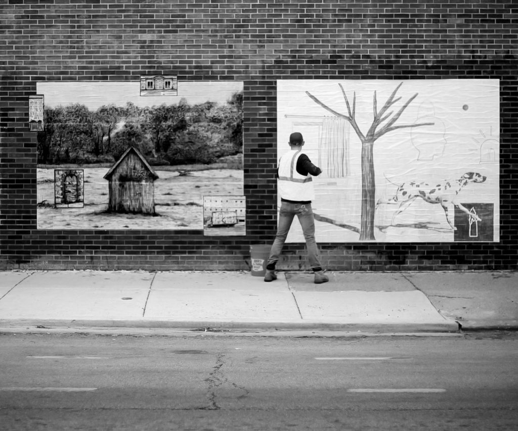 Chicago's Pizza In The Rain Celebrates Year-Long 'Landscapes' Project With Exhibition