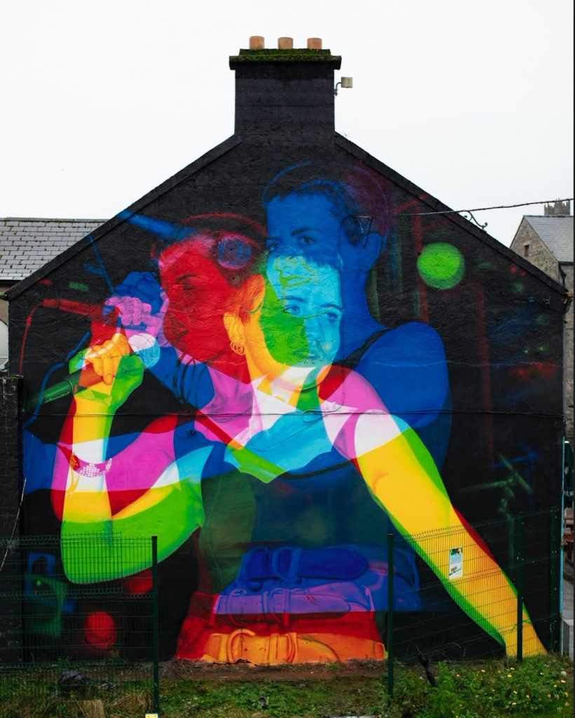 """Dolores O'Riordan"" by Aches in Limerick, Ireland"