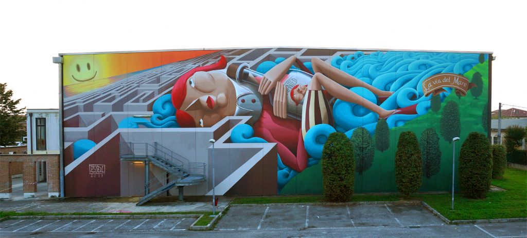 """The Way To The Sea"" By Zed1 in Vicenza, Italy"