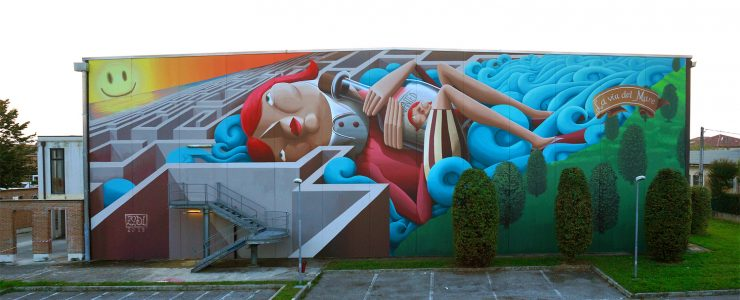 """""""The Way To The Sea"""" By Zed1 in Vicenza, Italy"""