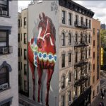 Shai Dahan latest mural in the Lower East Side, NYC