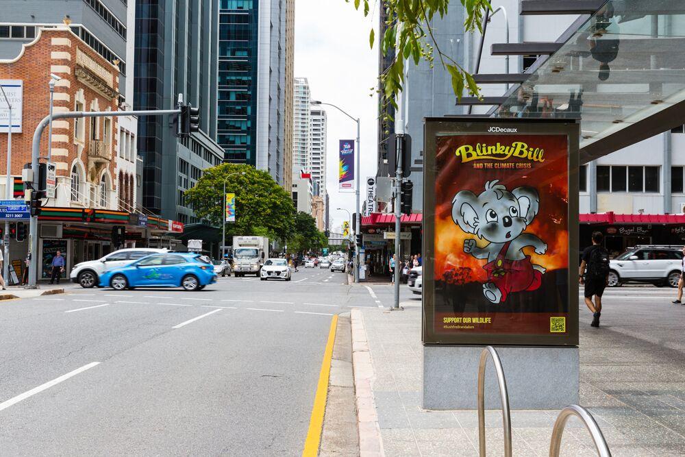 #BushfireBrandalism Across Sydney, Melbourne & Brisbane