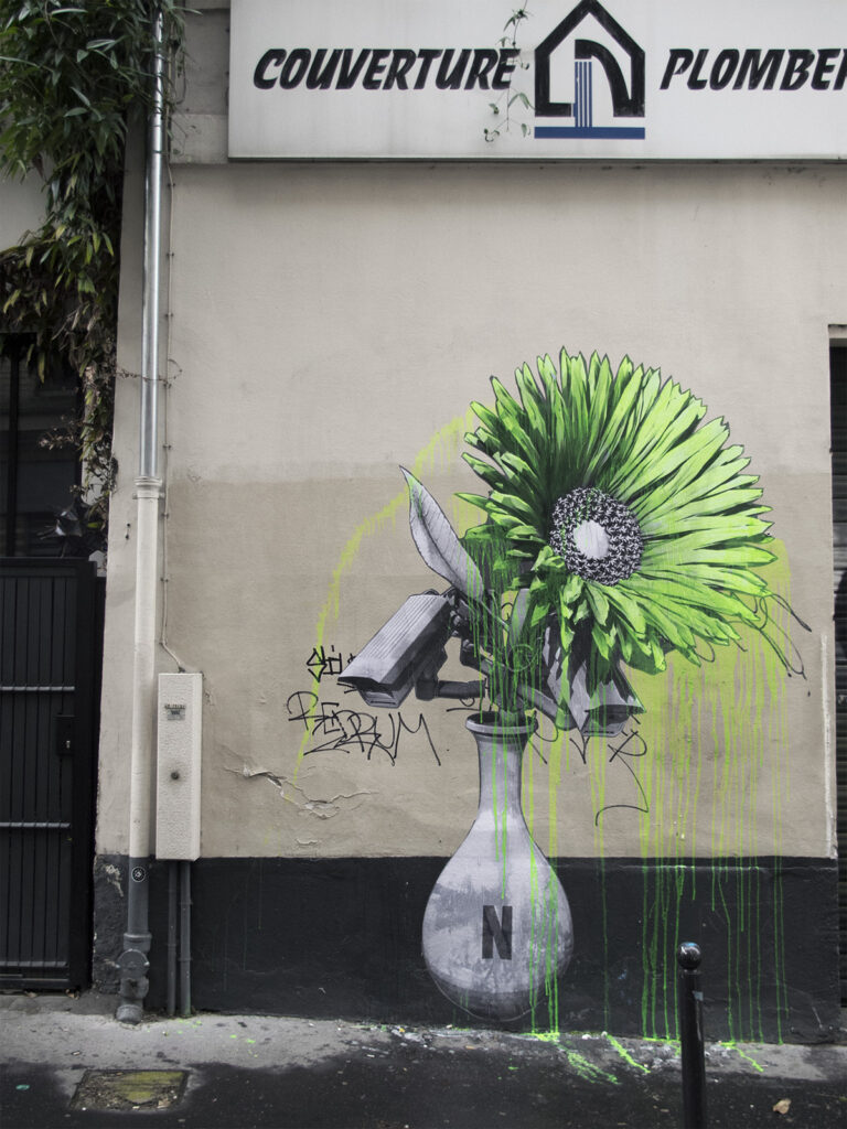 """Parisian Ketchup"" & ""Nature(Netflix)Morte"" by Ludo in Paris"