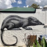 "ROA returns to Melbourne with a giant ""Honey Possum"""
