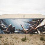 """""""Dive"""" by Vesod in Port Adelaide, Australia"""
