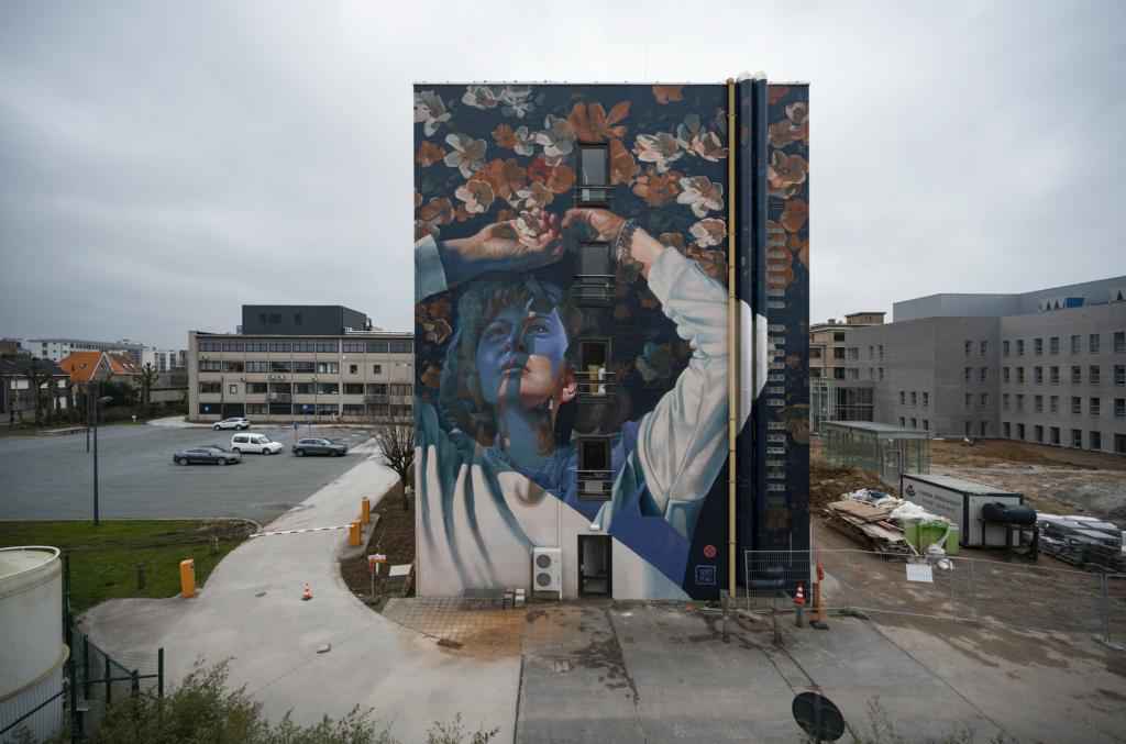 """""""Waterdam"""" by Telmo Miel in Roeselare, Belgium"""