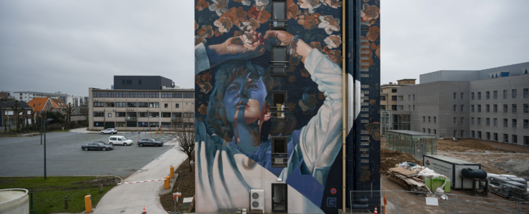 """Waterdam"" by Telmo Miel in Roeselare, Belgium"