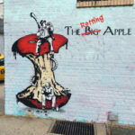"""The Rotting Apple"" by The Rebel Bear in Brooklyn, New York"