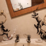 "Banksy ""Rat Bathroom Installation"""
