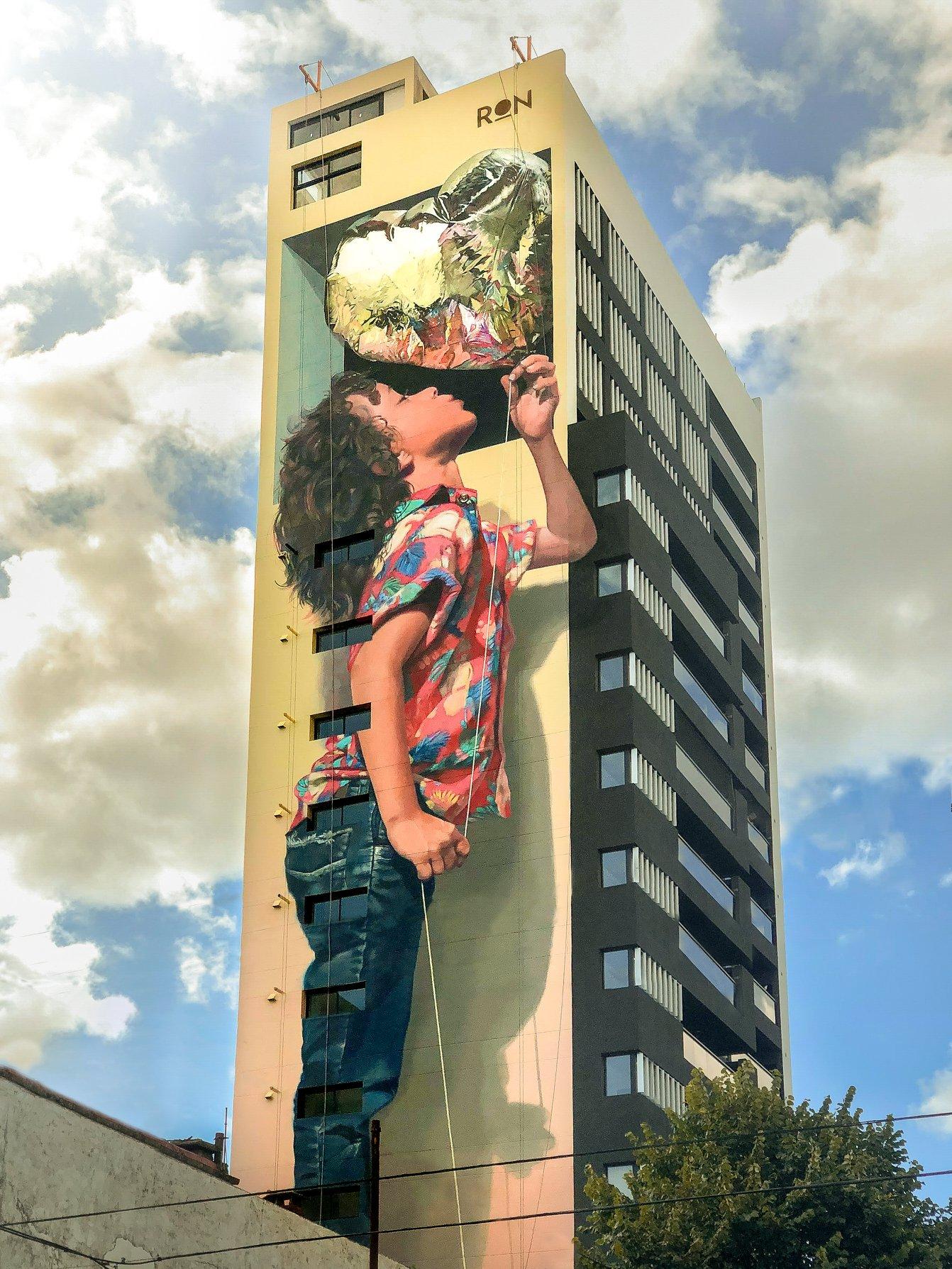 Martin Ron in Buenos Aires, Argentina | StreetArtNews