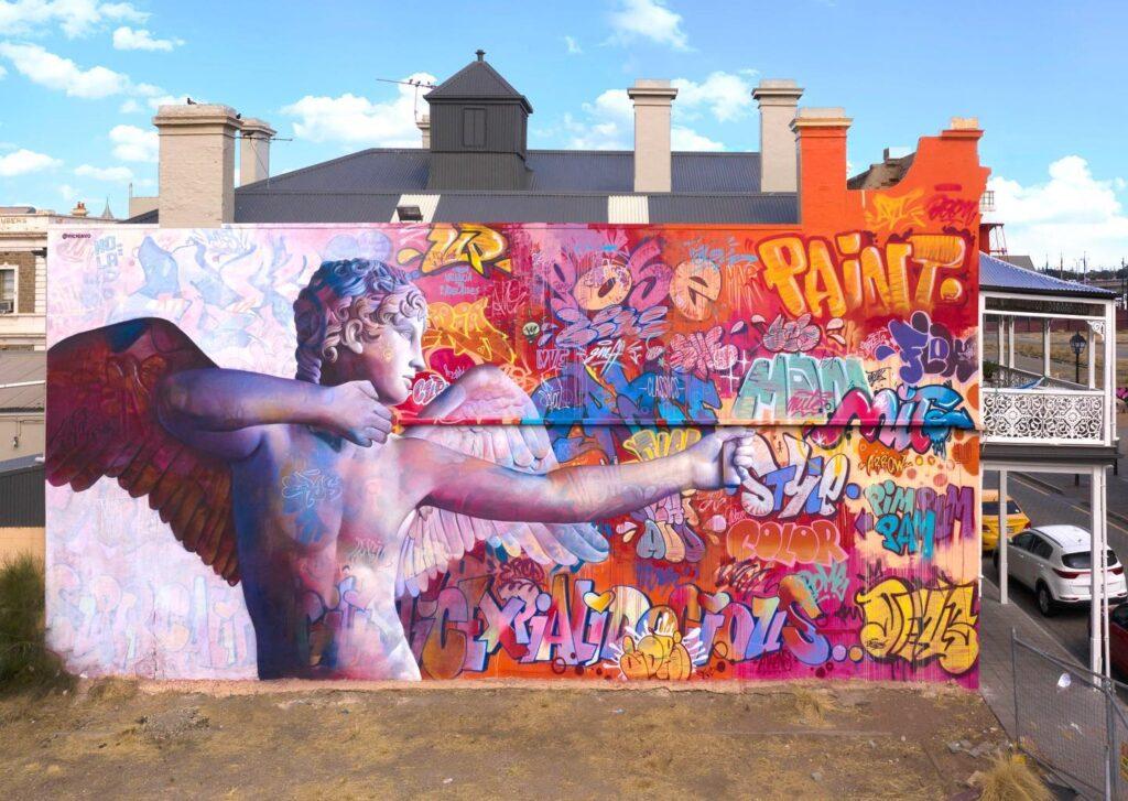 PichiAvo in Port Adelaide, Australia