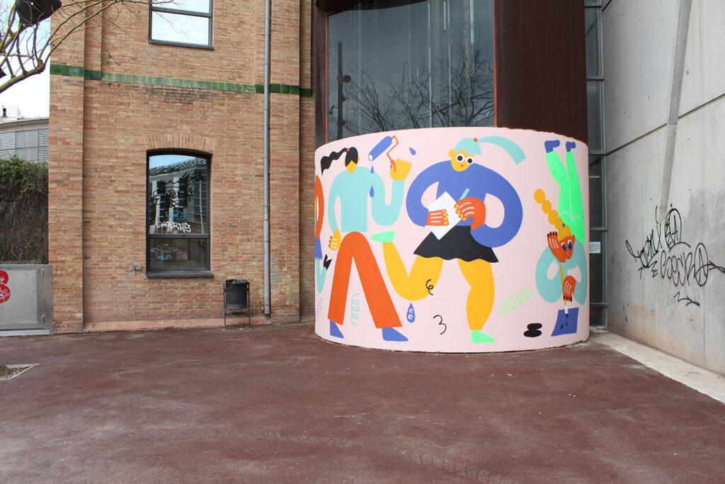 """Wall Claim"" by Emily Eldridge in Barcelona, Spain"