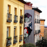 """Run Away"" by D*Face in Madrid"