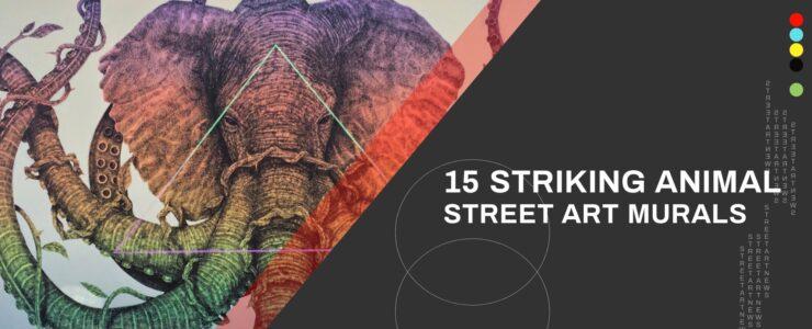 15 Striking Animal Street Art Murals