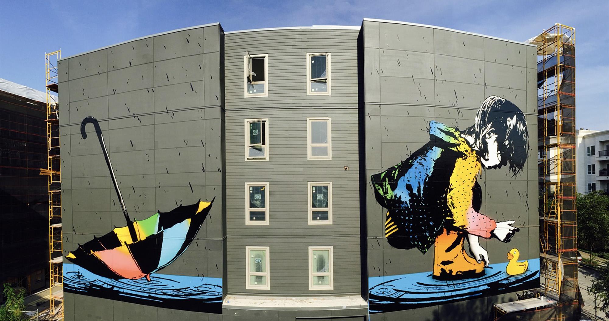 Top 15 dos Murais sobre Crianças Artes & contextos BumbleBee1