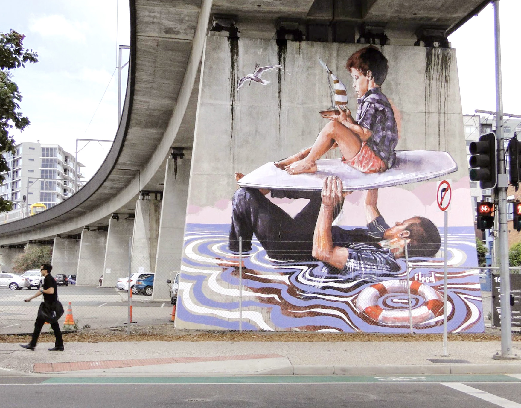 Top 15 dos Murais sobre Crianças Artes & contextos Fintan1