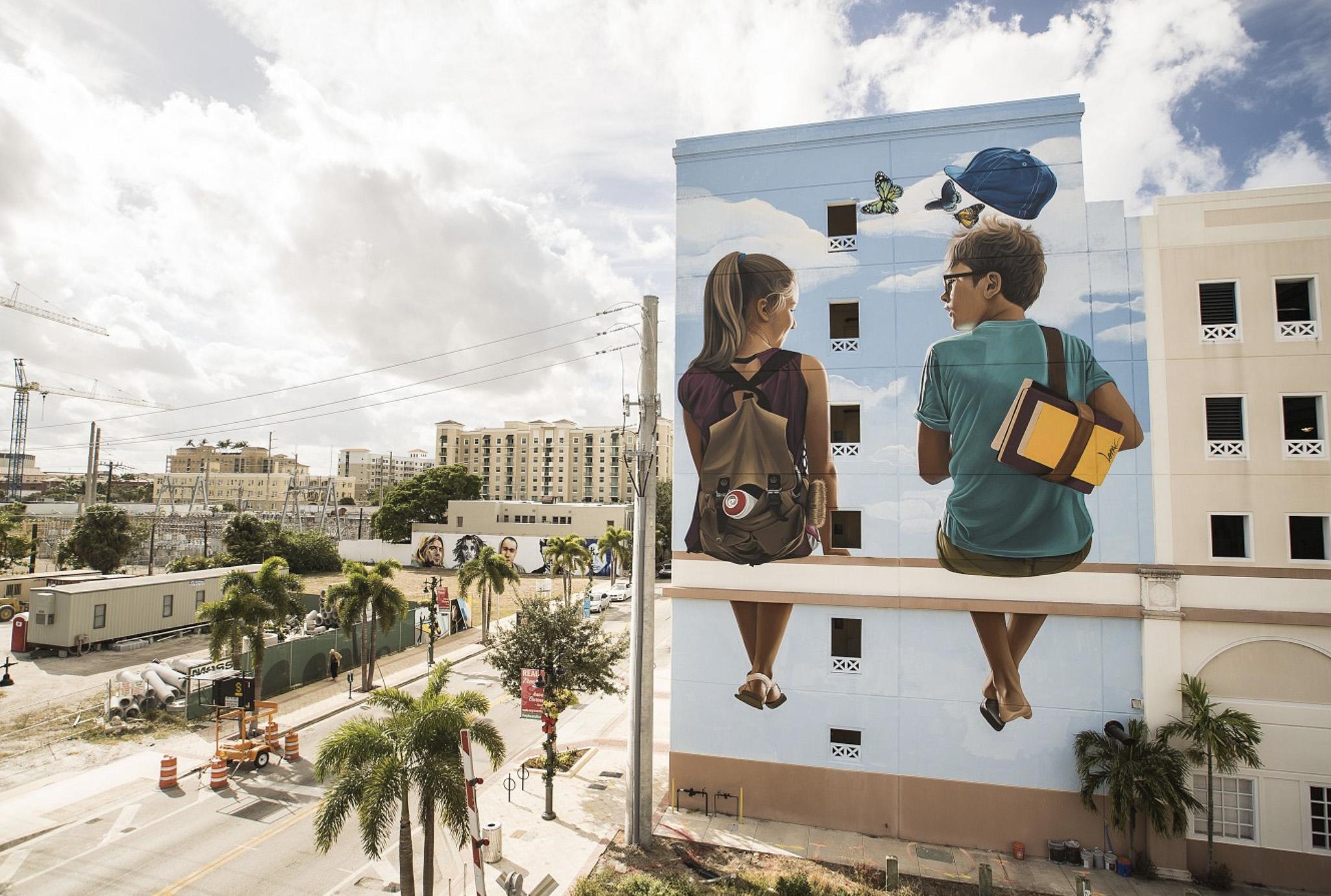 Top 15 dos Murais sobre Crianças Artes & contextos Lonac