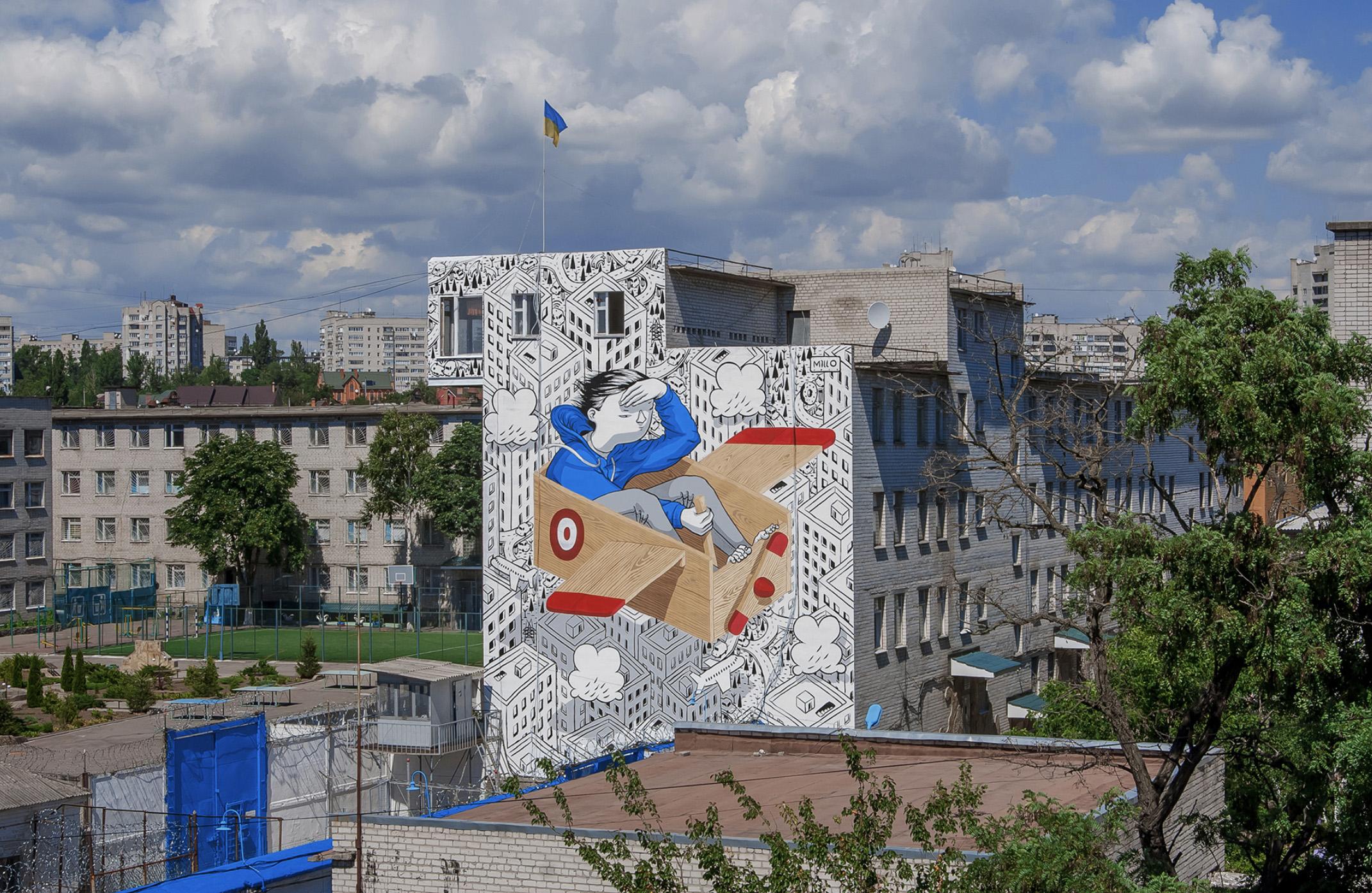 Top 15 dos Murais sobre Crianças Artes & contextos Millo
