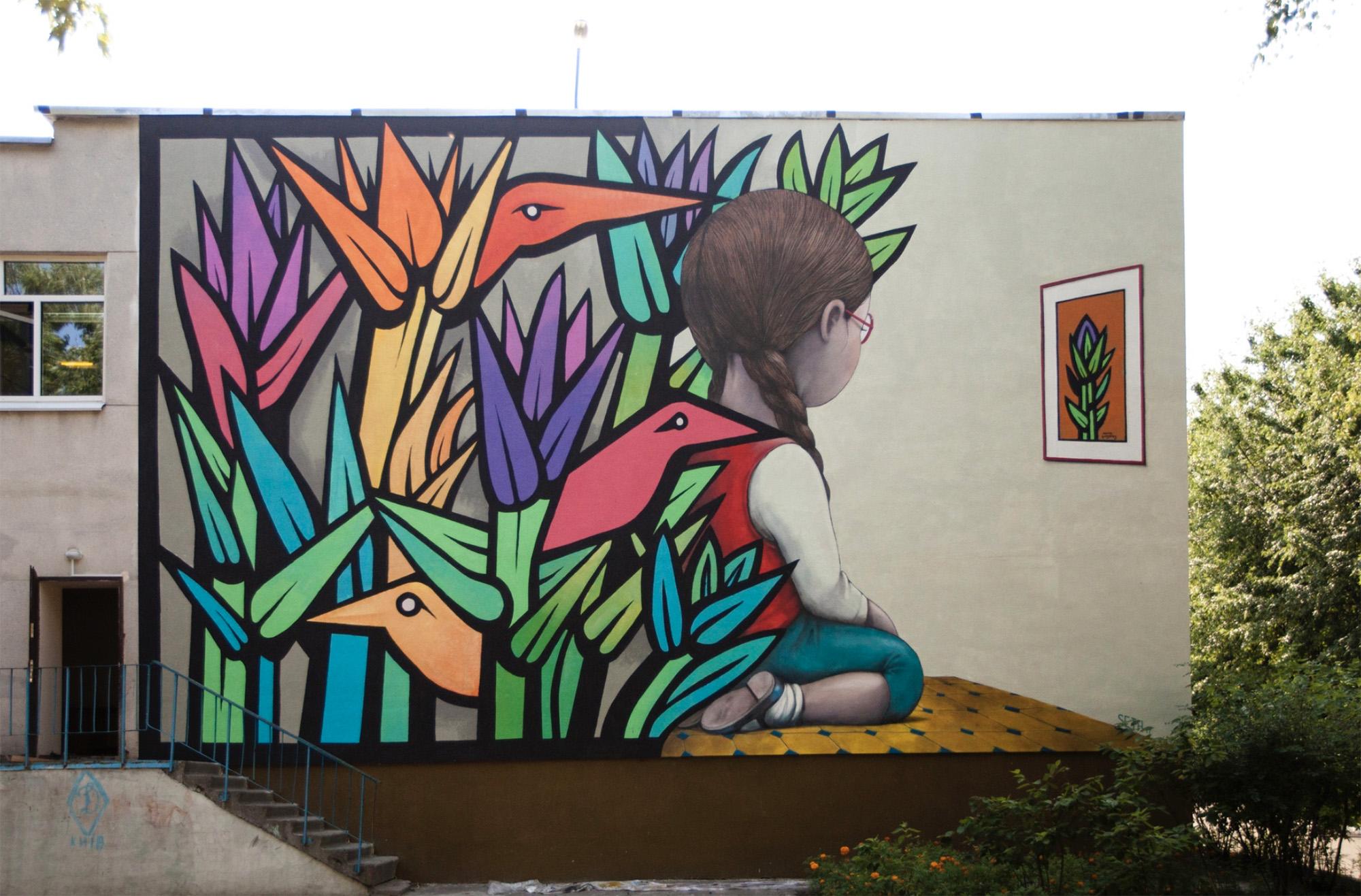 Top 15 dos Murais sobre Crianças Artes & contextos Mono1