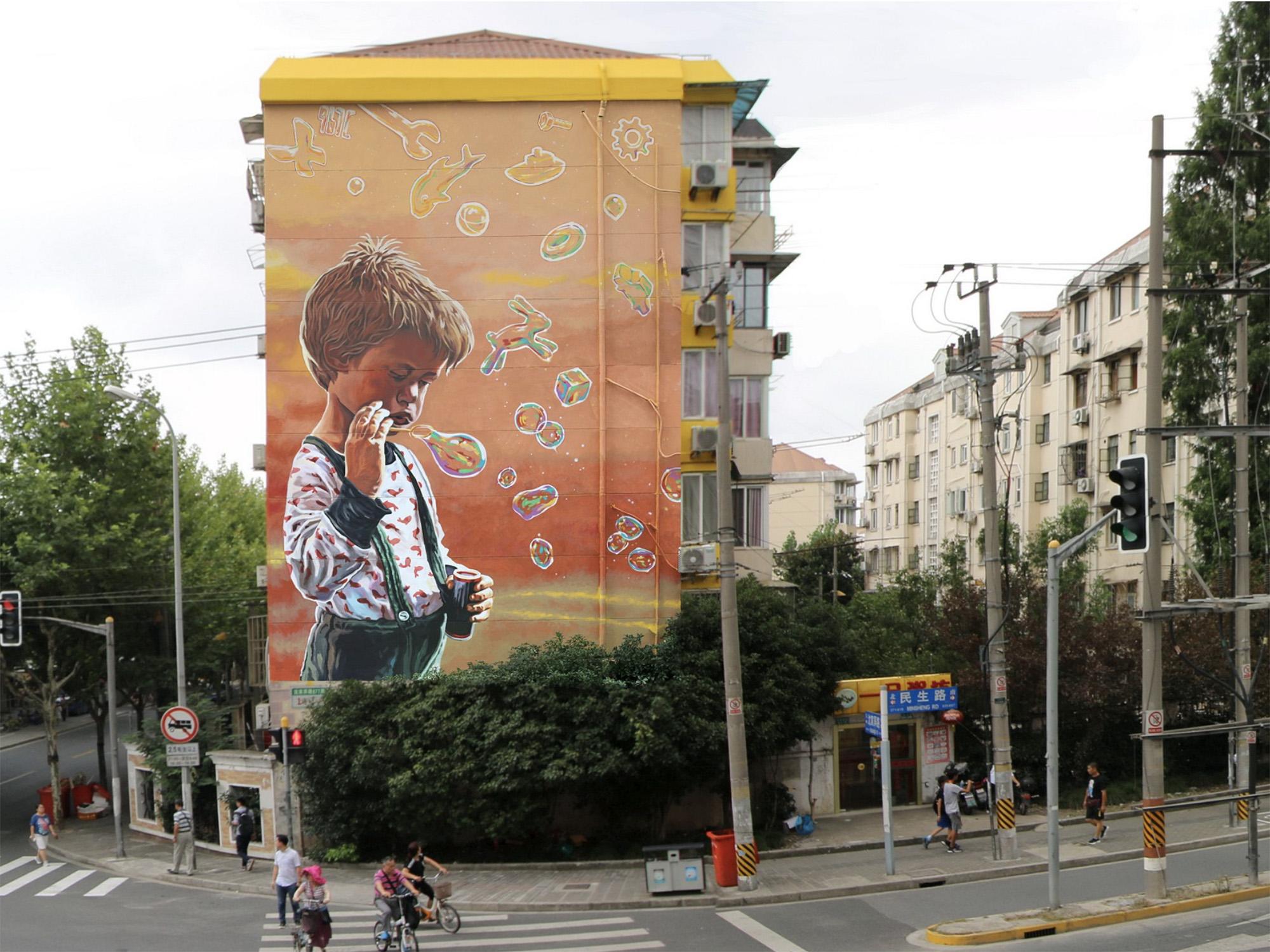 Top 15 dos Murais sobre Crianças Artes & contextos Rustam1