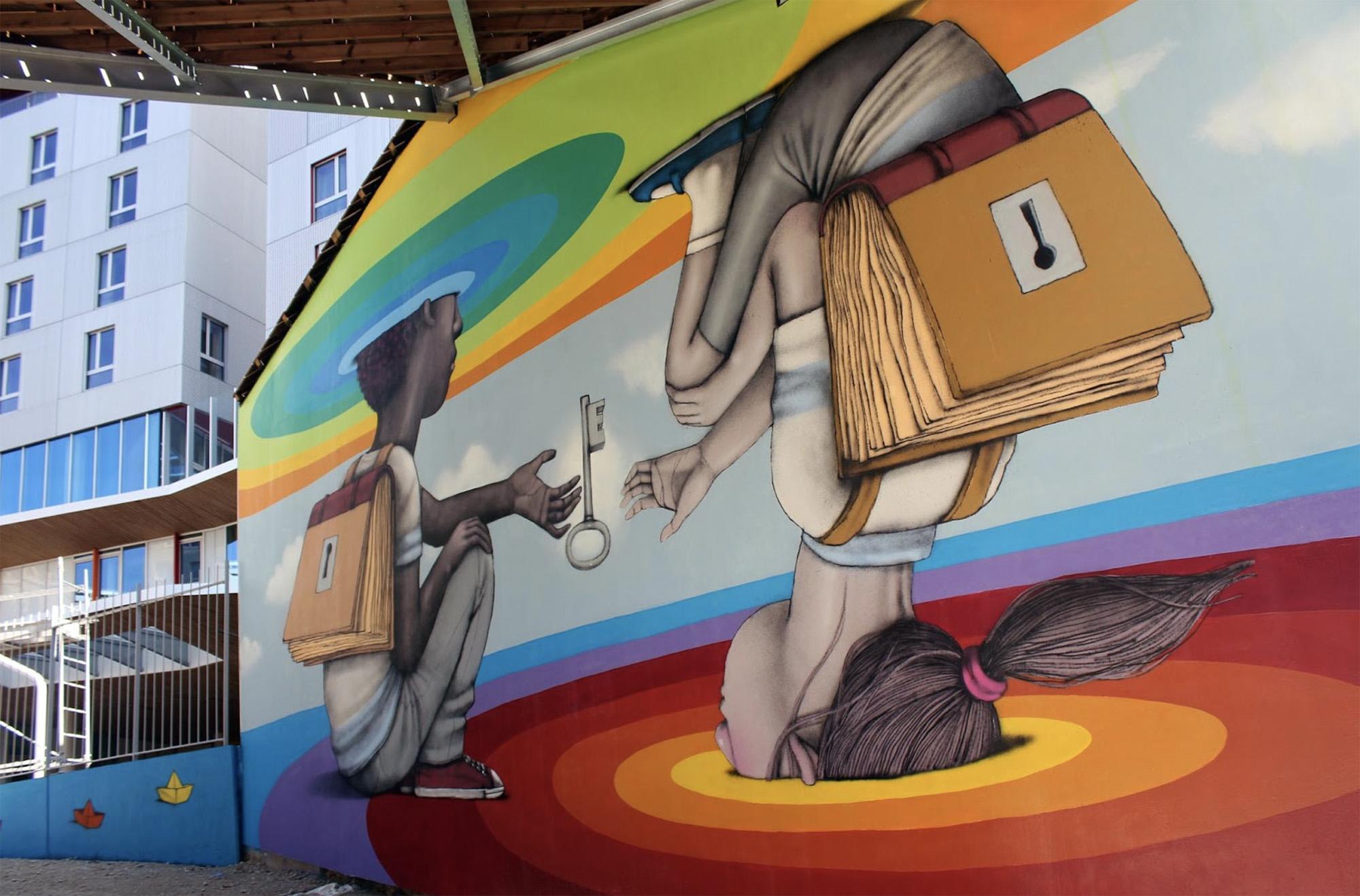 Top 15 dos Murais sobre Crianças Artes & contextos Seth1