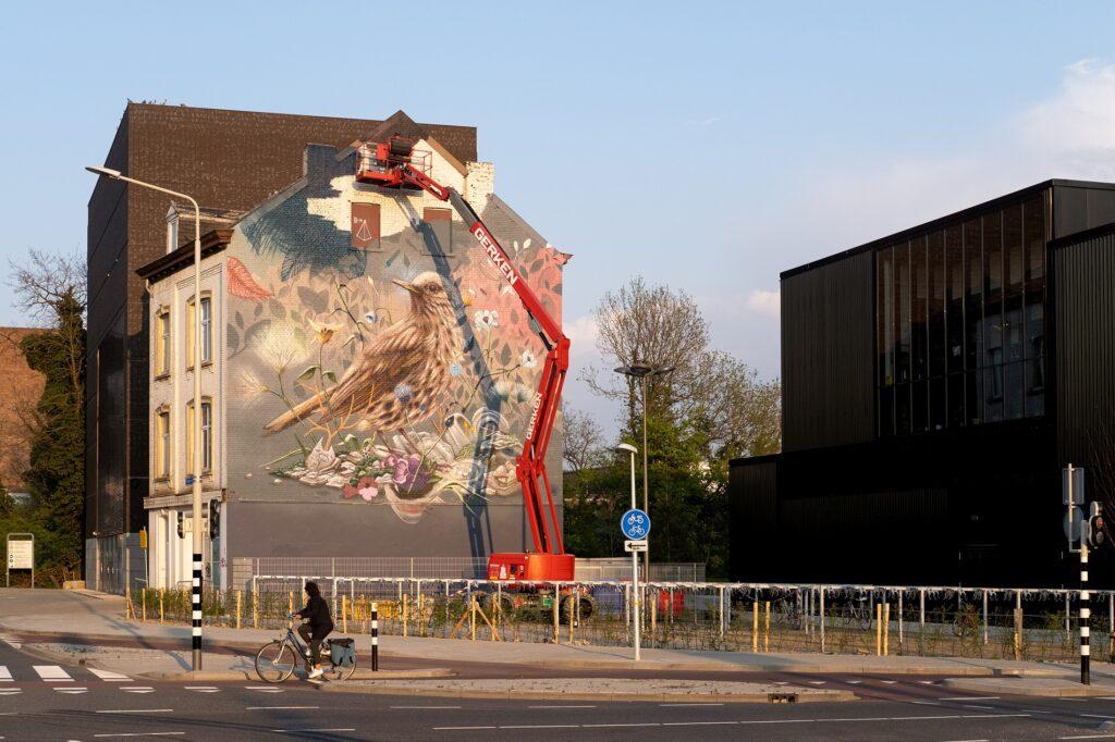 """""""Song Thrush"""" by Collin Van Der Sluijs and Jorn Gruijters"""