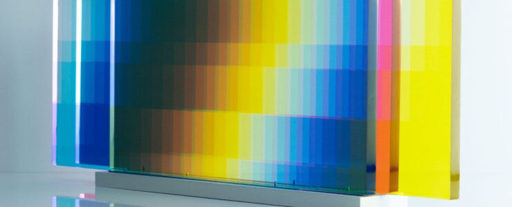 "Felipe Pantone ""Subtractive Variability Manipulable 3"" Configurable Art"