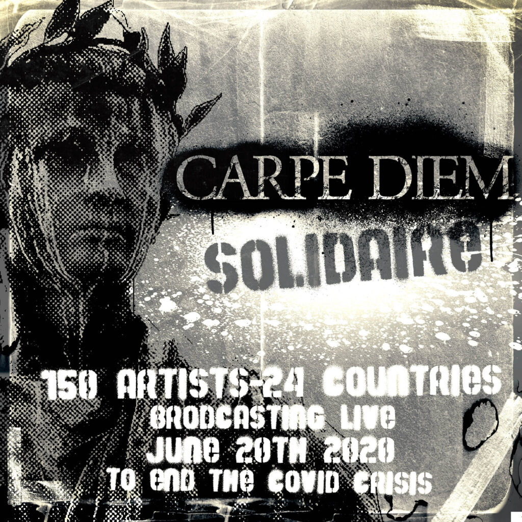 Carpe Diem Solidaire: 150 Artists United to Support Medical & Scientific Research to End the COVID-19 Crisis