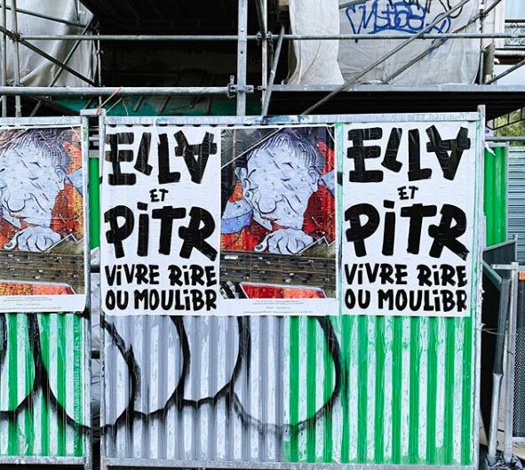 """""""Le plan sur la gommette"""" de Ella & Pitr em Paris Artes & contextos construction 2"""