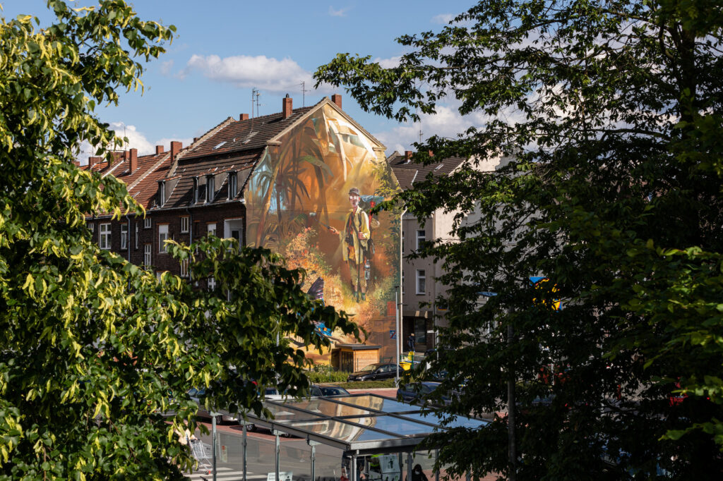 """""""The Butterfly Catcher"""" by Case Maclaim in Gelsenkirchen, Germany"""