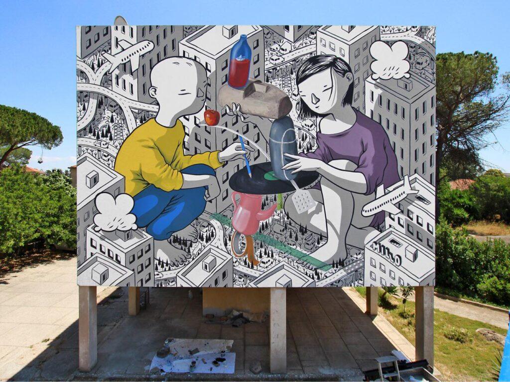 """""""Balance"""" by Millo in Sardinia, Italy"""