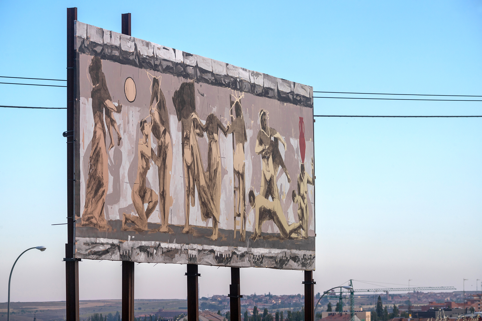 Insurrecta de Gonzalo Borondo, em Segóvia Artes & contextos 14 Insurrecta Borondo photo Roberto Conte IX