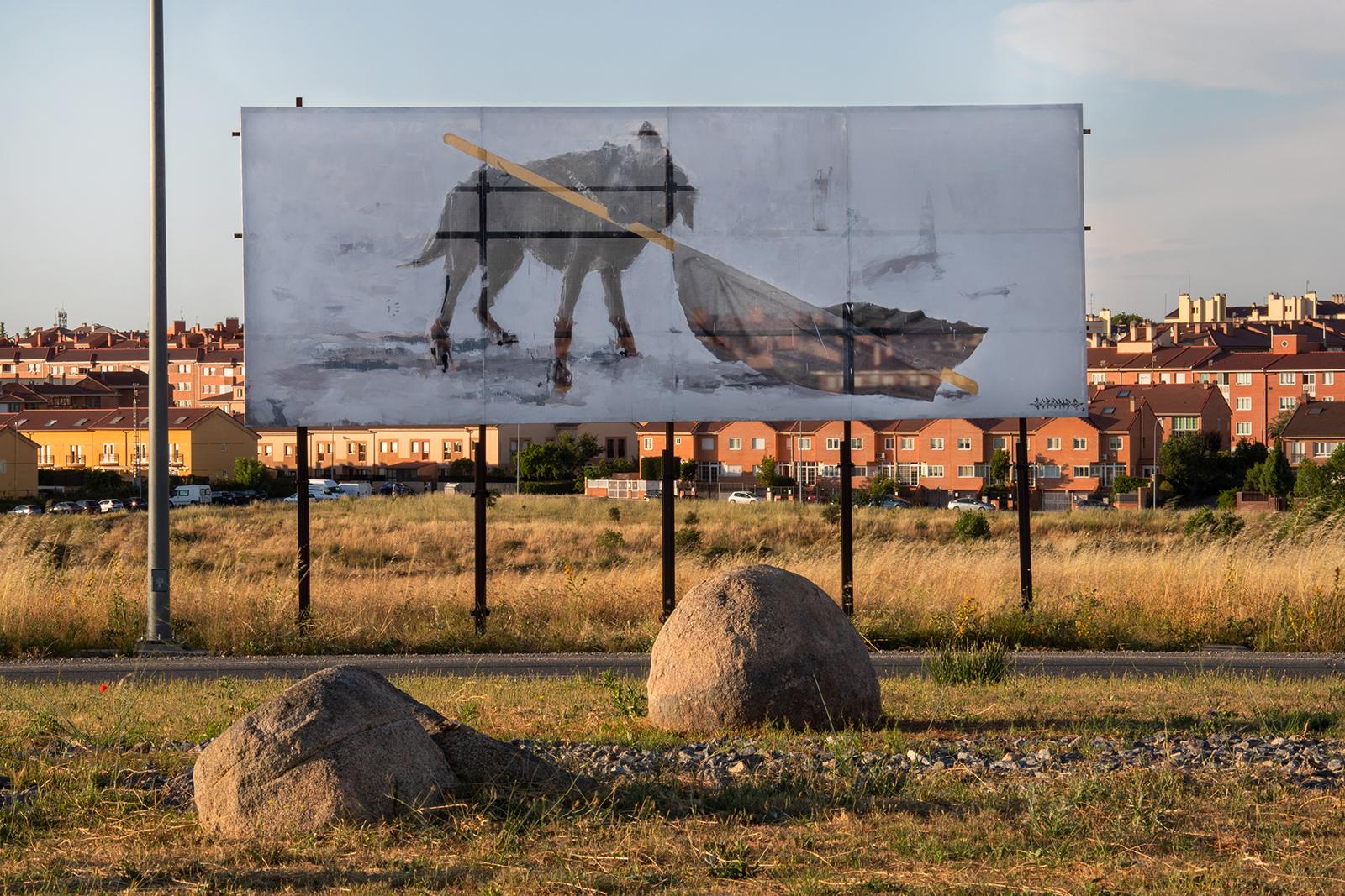 Insurrecta de Gonzalo Borondo, em Segóvia Artes & contextos 2 CS Insurrecta Borondo photo Roberto Conte XIII