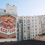 """Eco Vs Ego"" by Reskate in Grenoble, France"
