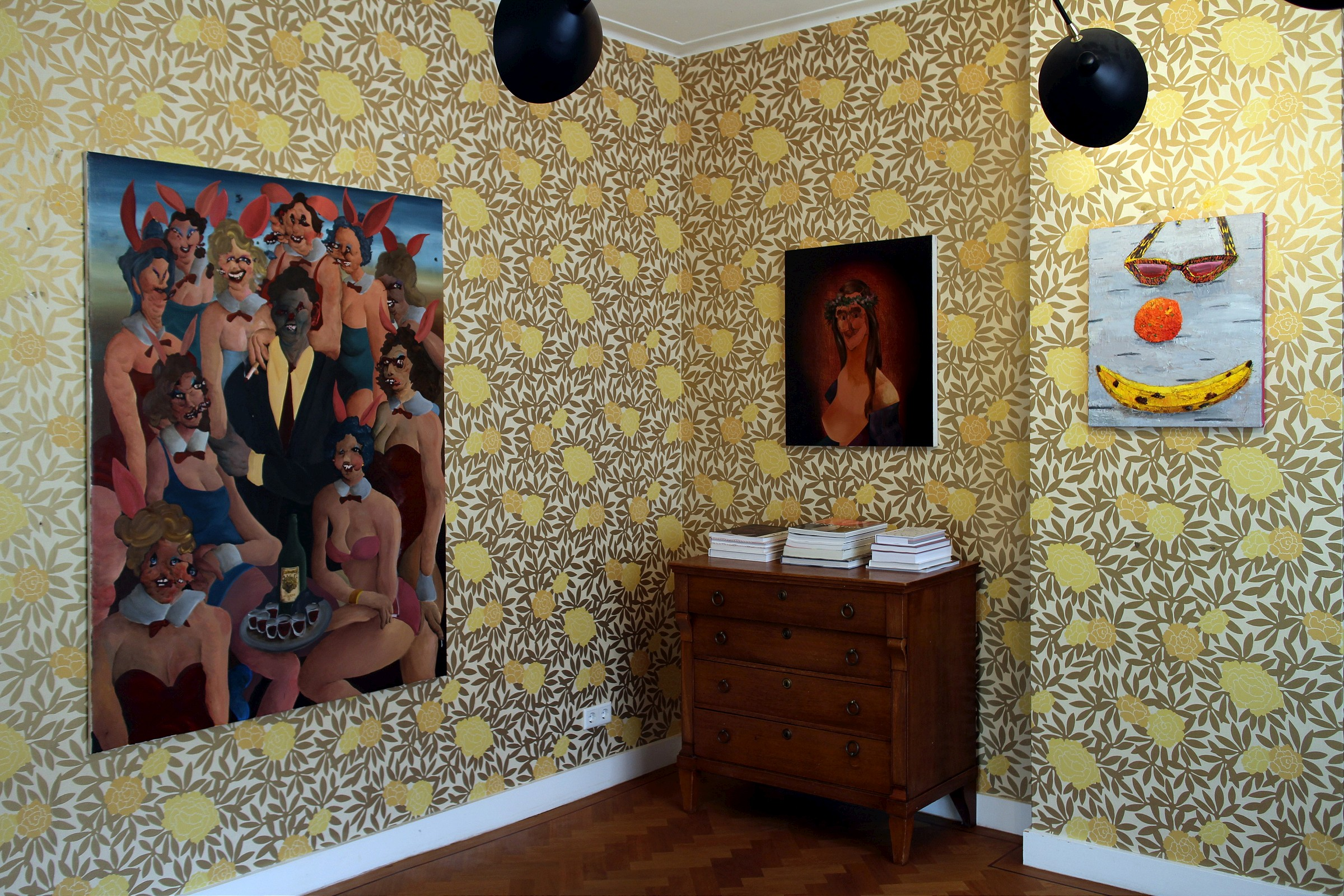 """DontGiveADamns"" na galeria Marian Cramer Projects Artes & contextos dontgiveadamns01"