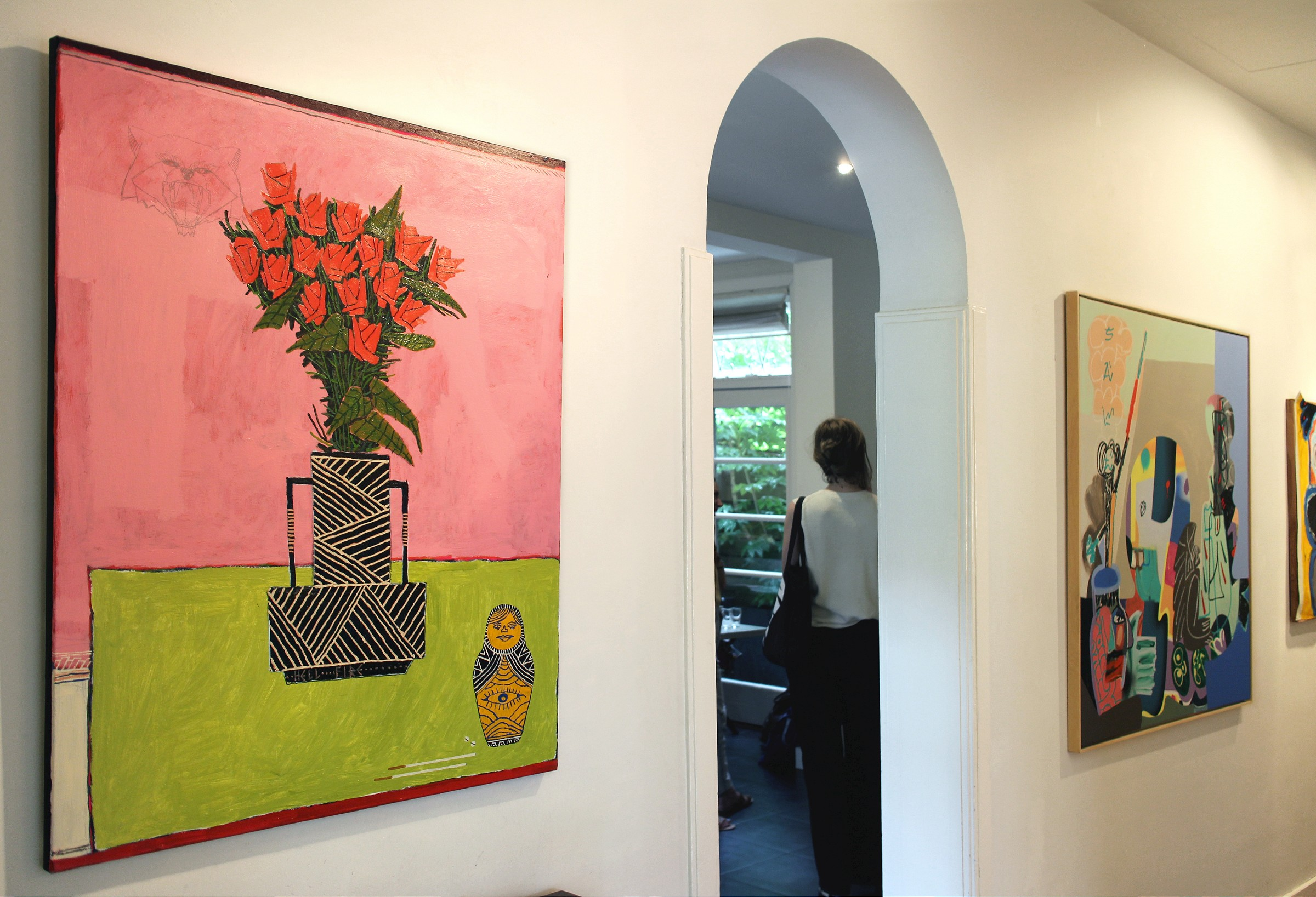 """DontGiveADamns"" na galeria Marian Cramer Projects em Amsterdão"