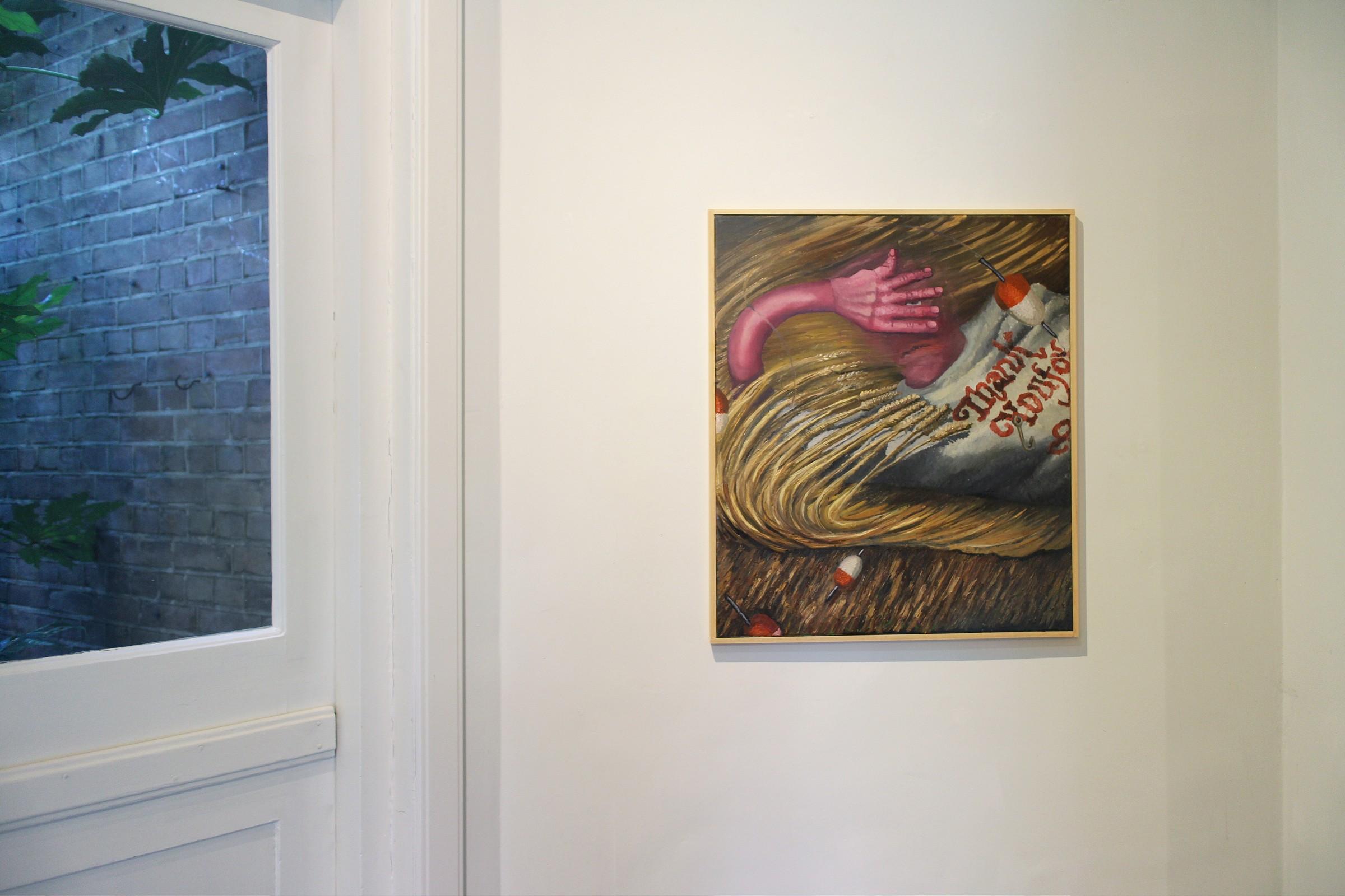 """DontGiveADamns"" na galeria Marian Cramer Projects Artes & contextos dontgiveadamns27"