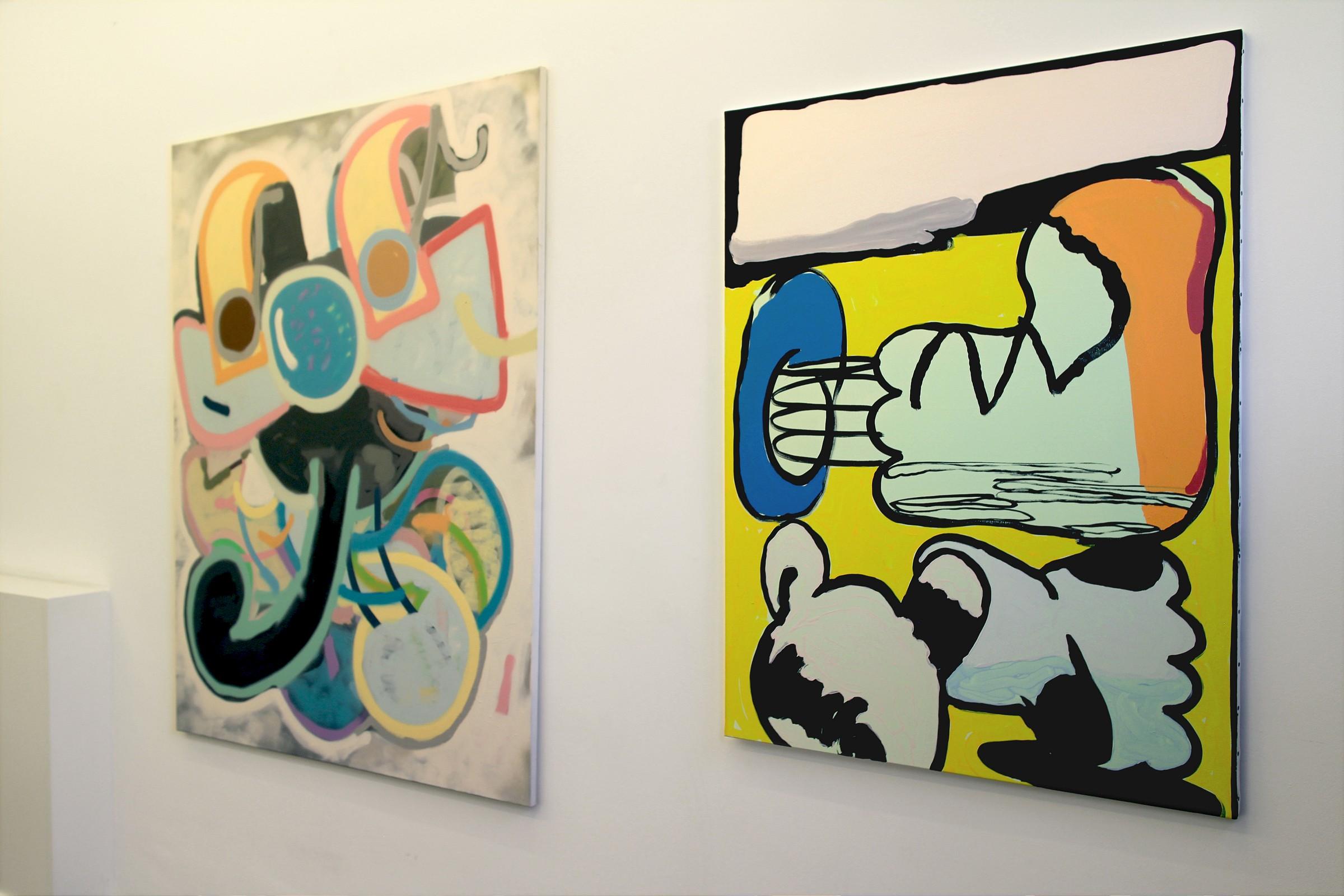"""DontGiveADamns"" na galeria Marian Cramer Projects Artes & contextos dontgiveadamns36"
