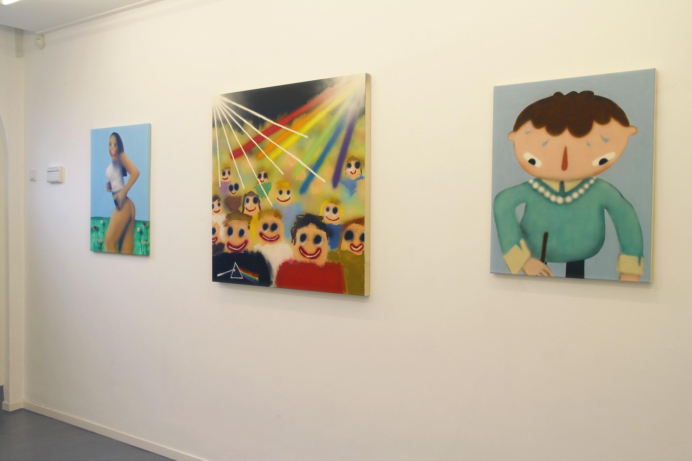 """DontGiveADamns"" na galeria Marian Cramer Projects Artes & contextos dontgiveadamns37"