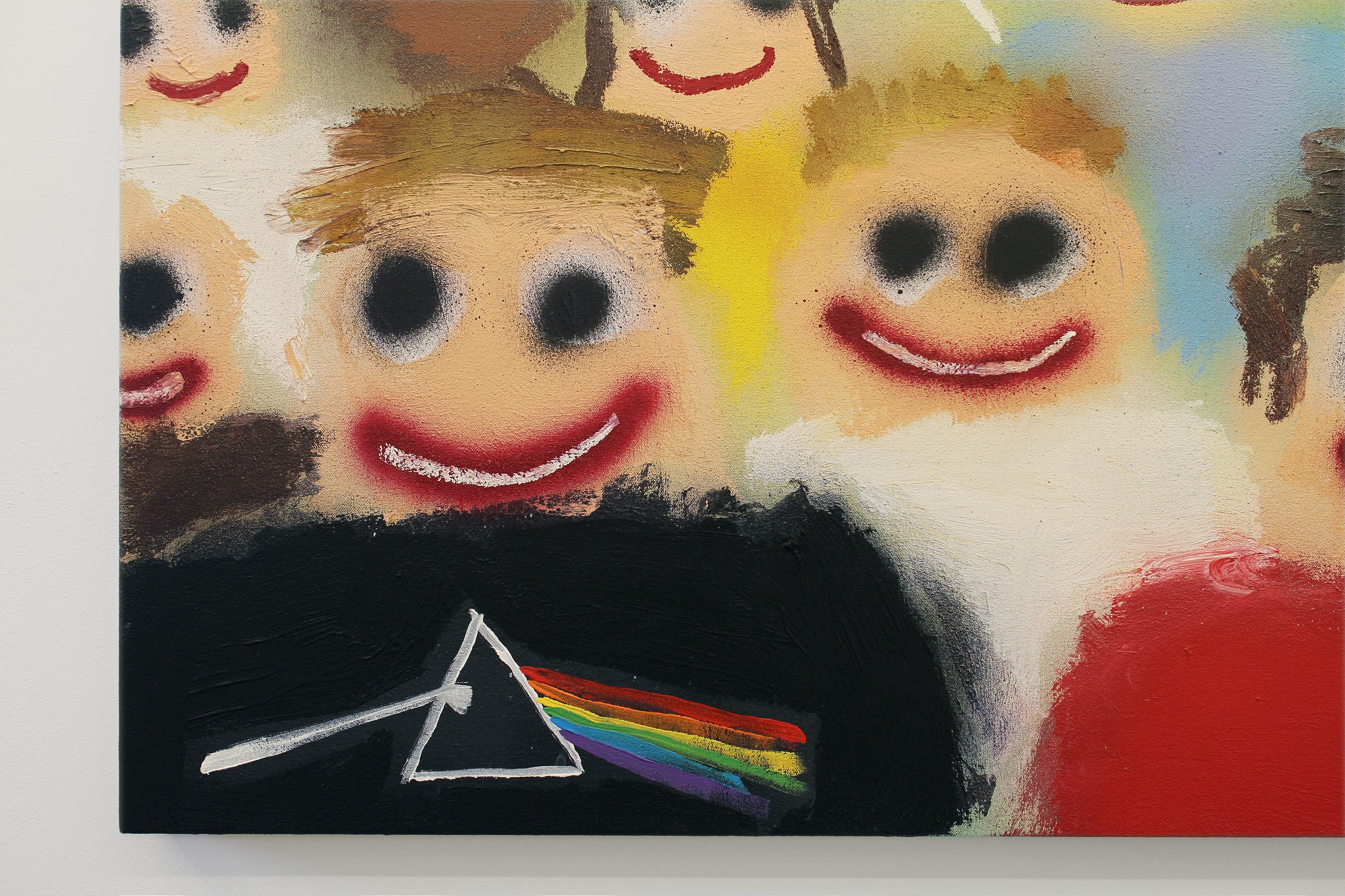 """DontGiveADamns"" na galeria Marian Cramer Projects Artes & contextos dontgiveadamns39"