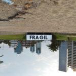 """""""Frágil"""" by David de la Mano in Montevideo, Uruguay"""