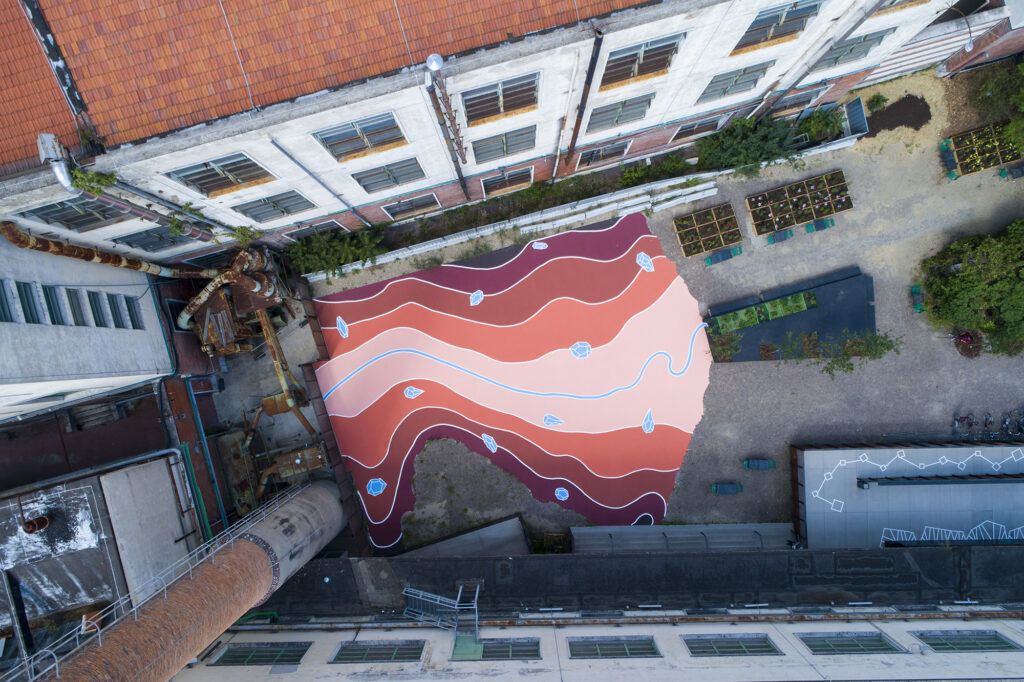 """""""Arno River Imaginary Topography"""" by Andreco in Florence, Italy"""