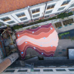 """Arno River Imaginary Topography"" by Andreco in Florence, Italy"