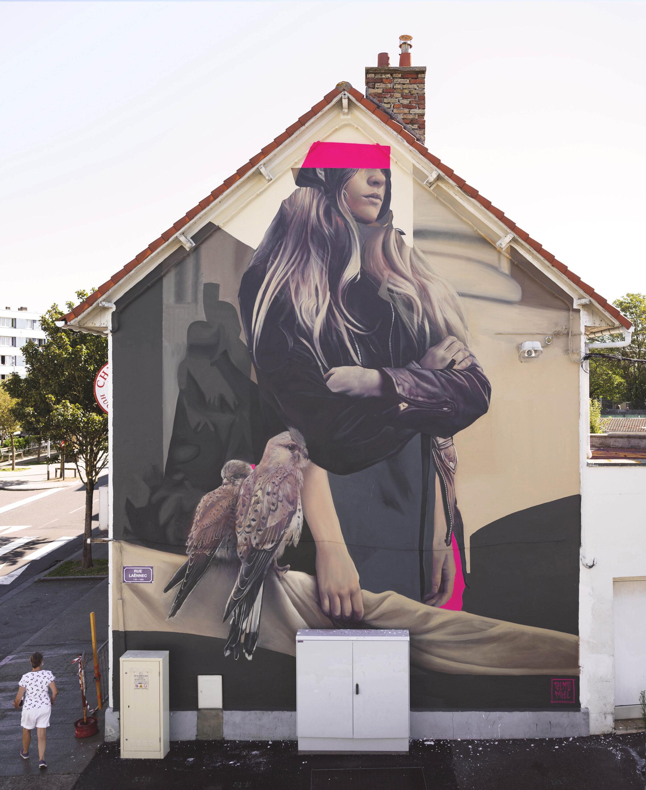 """""""Guardião de Falcões"""" de Telmo Miel in Bolonha, França 2020"""