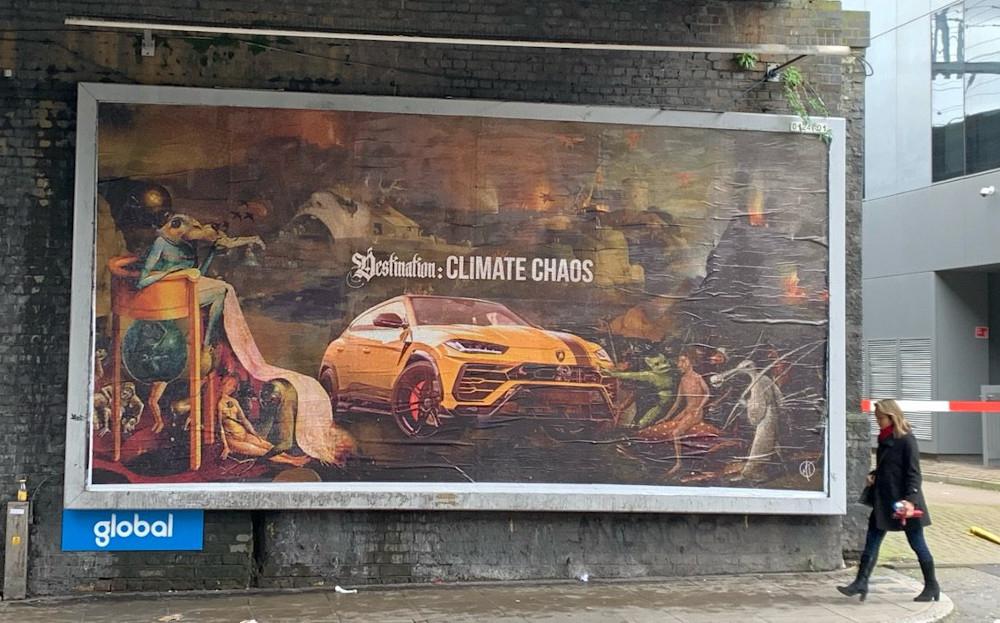 Brandalism Take Over 100 UK Billboards