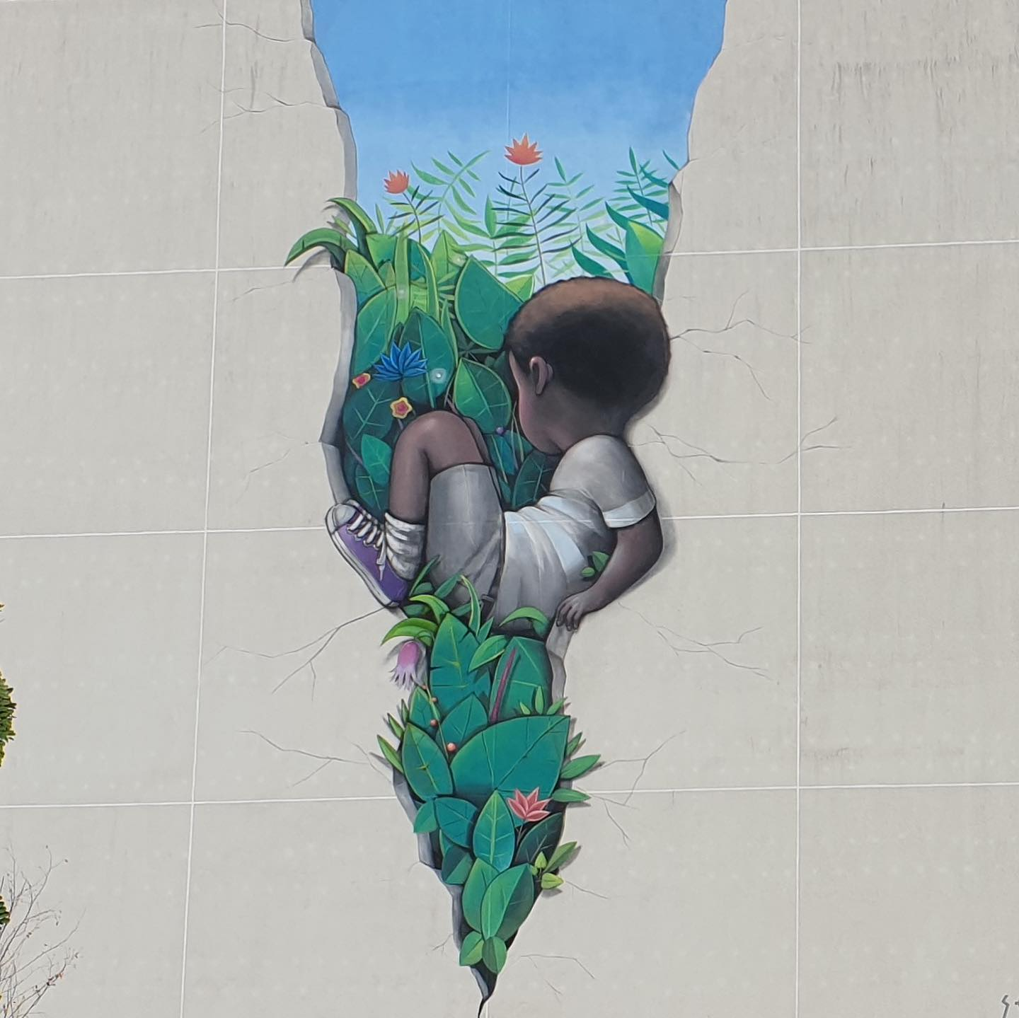 """There Was A Fault"" de Seth Globepainter"